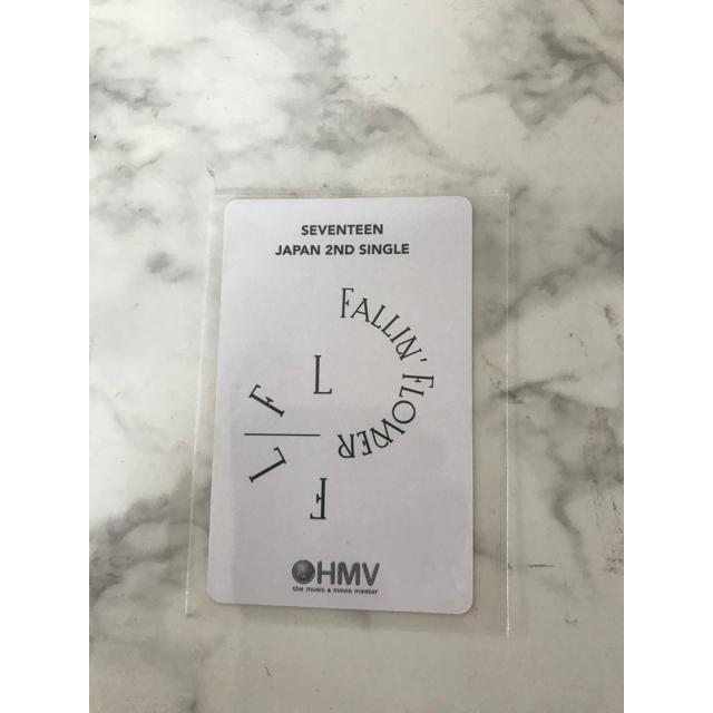 SEVENTEEN(セブンティーン)のエスクプス スンチョル トレカ 舞い落ちる花びら HMV  エンタメ/ホビーのCD(K-POP/アジア)の商品写真