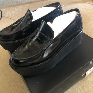 アンスクウィーキー(UNSQUEAKY)の〈meumeさん取り置き〉UNSQUEAKY/厚底/ローファー(ローファー/革靴)