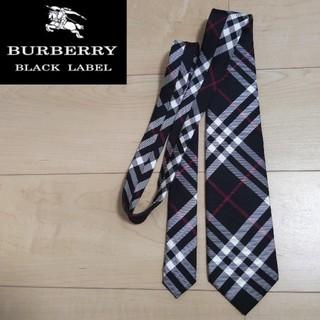 BURBERRY BLACK LABEL - バーバリー ブラックレーベル BURBERRY BLACK LABEL ネクタイ