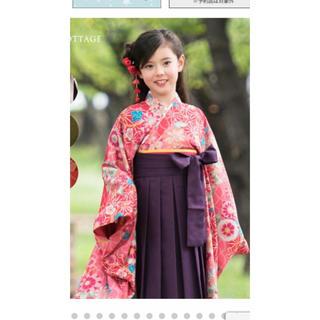 キャサリンコテージ(Catherine Cottage)の袴 〔150cm〕と髪飾り(和服/着物)