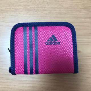 アディダス(adidas)のアディダス  財布 ほぼ新品 ピンク(財布)