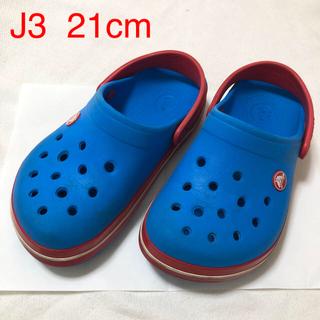 crocs - クロックス キッズサンダル J3 21cm  crocs