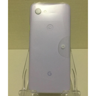 ANDROID - 【中古・超美品】Google Pixel 3a(G020H)64GB パープル