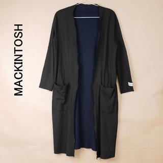 MACKINTOSH - MACKINTOSH マッキントッシュ 38 リバーシブル ロングカーディガン