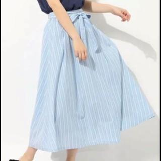 HONEYS - リボン付き フレアスカート