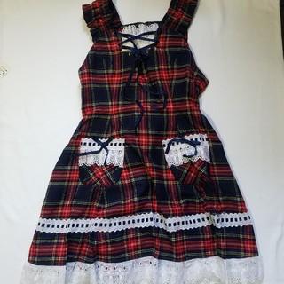 BABY,THE STARS SHINE BRIGHT - タータンチェック ジャンパースカート