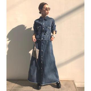 アメリヴィンテージ(Ameri VINTAGE)の4way denim dress coat(ロングワンピース/マキシワンピース)