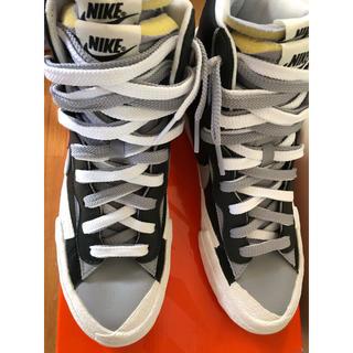 sacai - Nike Blazer Mid sacai Black Grey