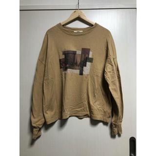 オゾック(OZOC)のブラウン ロンT(Tシャツ(長袖/七分))