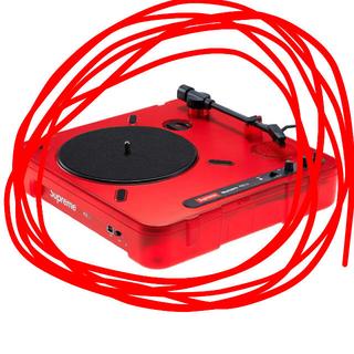 シュプリーム(Supreme)のSupreme/Numark PT01 Portable Turntable(ターンテーブル)