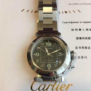 Cartier - CARTIER カルティエ パシャC ボーイズ 2324 自動巻 男女兼用モデル