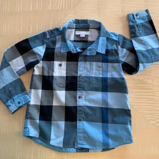 BURBERRY - バーバリー 長袖シャツ 98cm