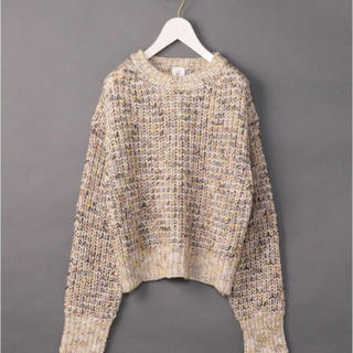 BEAUTY&YOUTH UNITED ARROWS - <6(ROKU)>MIX BIG KNIT PULLOVER/ニット