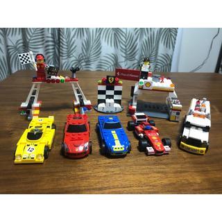 レゴ(Lego)のLEGO シェル フェラーリ セット(ミニカー)