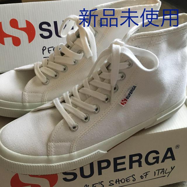 SUPERGA - スペルガ ハイカット 白 42 の通販