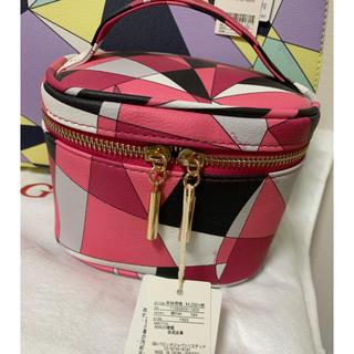 rienda - 新品未使用タグ付き rienda バニティ ポーチ ピンク