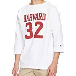 チャンピオン(Champion)のチャンピオン  ハーバード大学 フットボール 七分袖Tシャツ US Mサイズ(Tシャツ/カットソー(七分/長袖))
