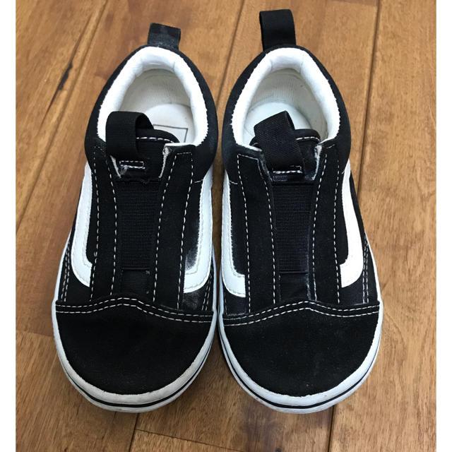 VANS(ヴァンズ)の美品vans♡スリッポン♡16cm キッズ/ベビー/マタニティのキッズ靴/シューズ(15cm~)(スリッポン)の商品写真