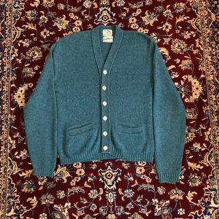 UNUSED - 60s vintage  wool cardigan
