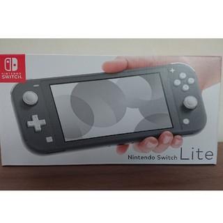 ニンテンドースイッチ(Nintendo Switch)の新品未開封 ニンテンドー スイッチライト グレー Switch Lite(携帯用ゲーム機本体)