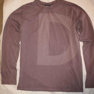 ドルチェアンドガッバーナ(DOLCE&GABBANA)のD&G  ドルチェ&ガッバーナ DOLCE&GABBANA ロング Tシャツ L(Tシャツ/カットソー(七分/長袖))