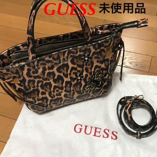 GUESS - [新品]GUESS レオパード バッグ