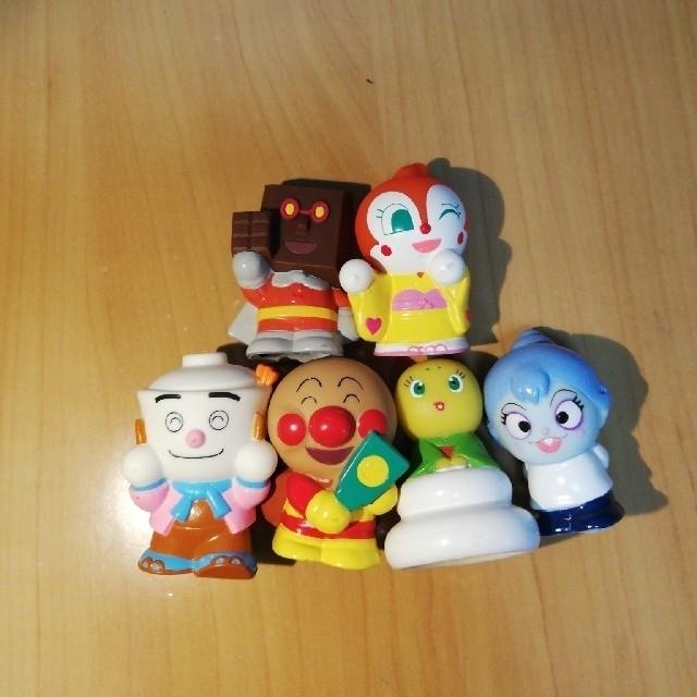アンパンマン(アンパンマン)のアンパンマン 指人形 エンタメ/ホビーのおもちゃ/ぬいぐるみ(キャラクターグッズ)の商品写真