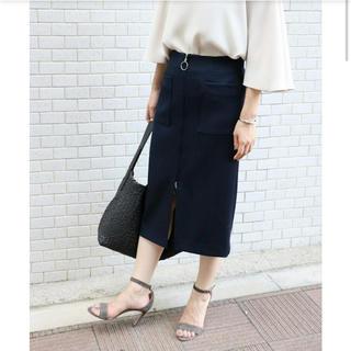 ノーブル(Noble)のノーブル♡フープジップタイトスカート(ひざ丈スカート)