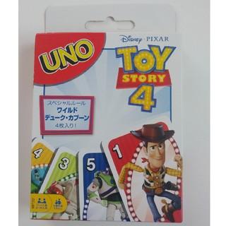 トイストーリー(トイ・ストーリー)の【新品未使用】トイ・ストーリー4 ウノ UNO(トランプ/UNO)