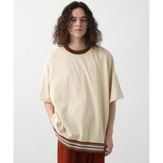 ハレ(HARE)のHARE デザインリブカットソー Tシャツ(Tシャツ/カットソー(半袖/袖なし))