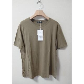 ZARA - 新品 ZARA ザラ オーガニックコットン クルーネック Tシャツ 半袖