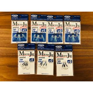 【新品未使用】マイクロジグ アシスト7袋セット【ヴァンフック】(ルアー用品)