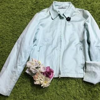 BURBERRY - burberryバーバリー 春色タブルジップジャケット
