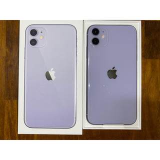 Apple - iPhone11 Purple 紫 128GB SIMロック解除済 新品未使用