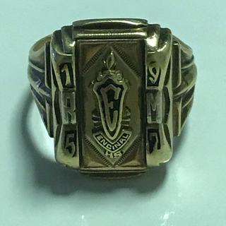 ヴィンテージカレッジリング ビンテージ カレッジリング アメリカンカルチャー(リング(指輪))