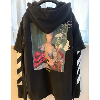 OFF-WHITE - 19AW OFF-WHITE MARIANA DOUBLETEE HOODIE