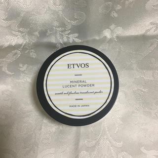 エトヴォス(ETVOS)の【新品】ETVOS ミネラルルーセントパウダー(フェイスパウダー)
