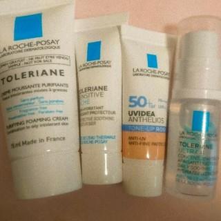 ラロッシュポゼ(LA ROCHE-POSAY)のラロッシュポゼ 化粧下地 トーンアップローズ 化粧水 洗顔 保湿クリームサンプル(サンプル/トライアルキット)