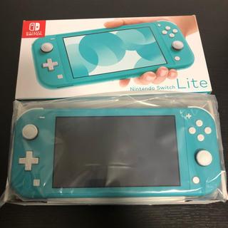 Nintendo Switch - 即購入⭕ Nintendo Switch Liteターコイズブルー