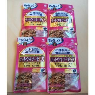 小林製薬 - 小林製薬 ナットウキナーゼEX 30日分×4袋