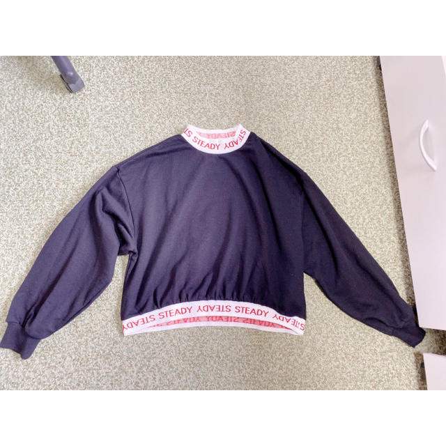 WEGO(ウィゴー)のWEGO 黒トップス レディースのトップス(ニット/セーター)の商品写真