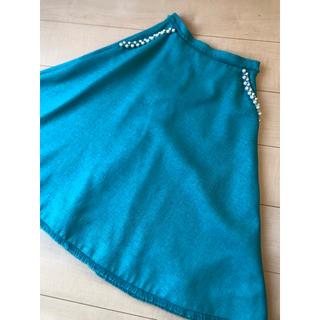 Chesty - chestyグリーンパール付きスカート♡