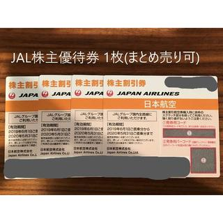 JAL(日本航空) - 【JAL】株主優待券2枚セット② 2020年5月31日搭乗分まで