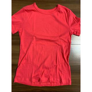 プチバトー(PETIT BATEAU)のPETIT BATEAUプチバトー クルーネック Tシャツ S(国内M)(Tシャツ(半袖/袖なし))