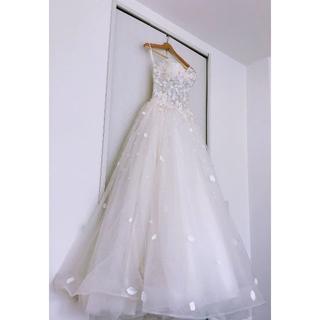 花嫁のウェディングドレス 二次会 結婚式パーティードレス フリーサイズ