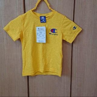 チャンピオン 100センチ Tシャツ イエロー(Tシャツ/カットソー)