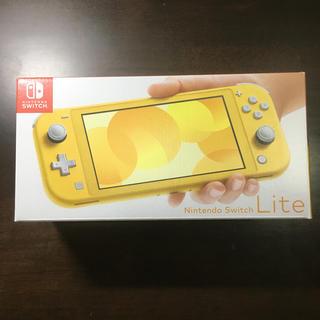 ニンテンドースイッチ(Nintendo Switch)のNintendo Switch Lite イエロー(家庭用ゲーム機本体)