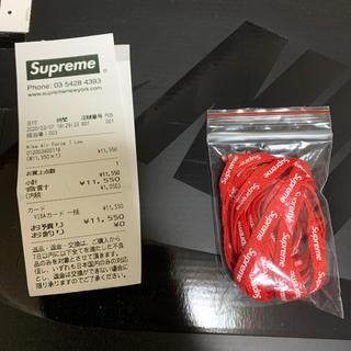 Supreme - supreme nike Air Force 1 変え紐 のみ