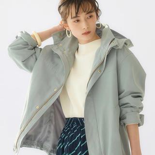 green label relaxing - SC ハッスイ コクーン マウンテンパーカー 38 完売色ライトブルー