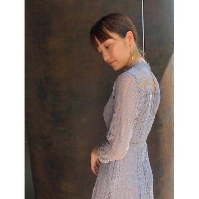LagunaMoon(ラグナムーン)のまや様専用♡LADY MIX レースフレアーワンピース 美品 レディースのフォーマル/ドレス(ロングドレス)の商品写真